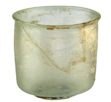 Стеклянные сосуды в музее Тавриды
