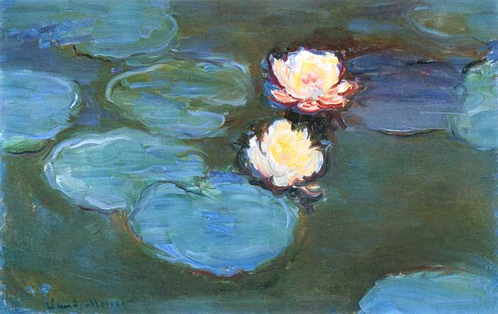 Водяные лилии Клода Моне