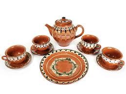 Болгарская керамика чайный сервиз