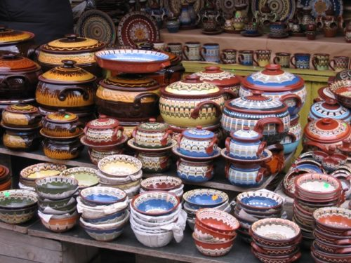 Красота болгарской керамики