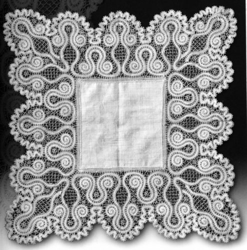 Носовой платок, Вологодская губерния, XIX век