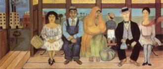 Frida Kahlo. Painting