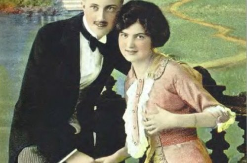 Любовные открытки XX века