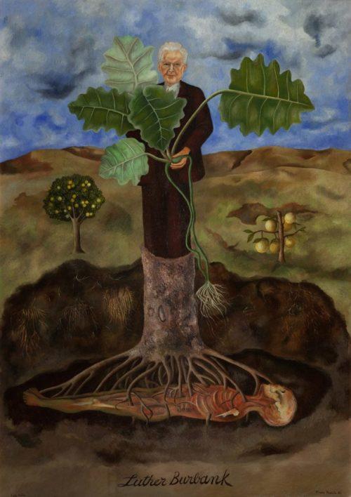 """Картина """"Портрет Лютера Бербанка"""", 1932 год."""