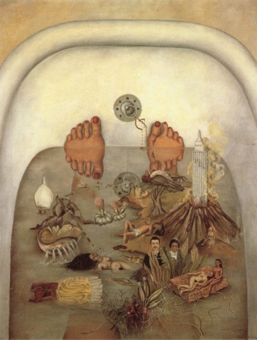 "Картина ""Что дала мне вода"", 1938 год."