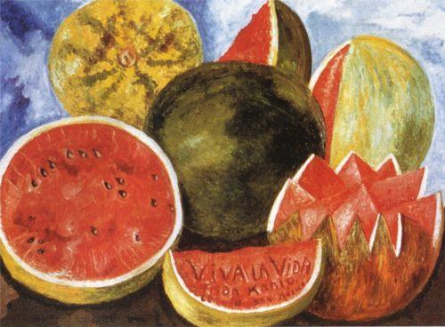 """Фрида Кало. Картина """"Viva la vida"""", 1954 год."""
