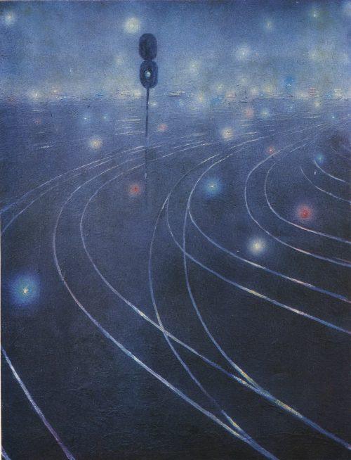 В. Б. Шмиько. Дороги 1981. Железнодорожная тема в советском искусстве