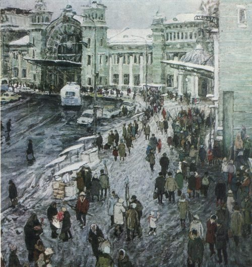 В. Н. ЧУЛОВИЧ. Род. 1922. Москва Белорусский вокзал. 1969 X., м.