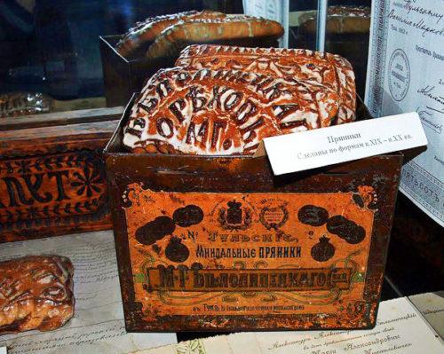 Пряники сделанные по формам 19-20 веков. Тульский пряник