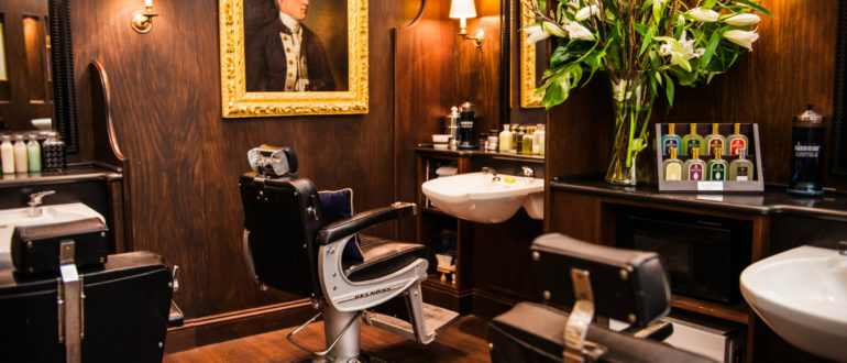 Truefitt & Hill самая старая парикмахерская в мире
