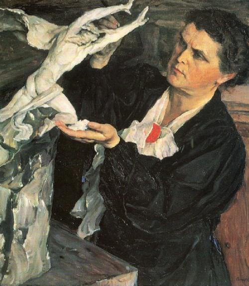 Великий советский скульптор Вера Мухина