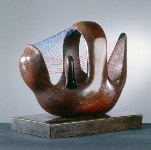 Птичье гнездо, 1939 (Железное дерево, струны)